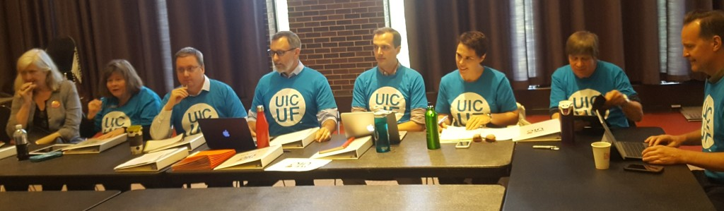 UICUF Bargaining Team - 1st Negotiation 5